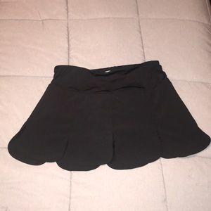 FILA black athletic skort size medium like new